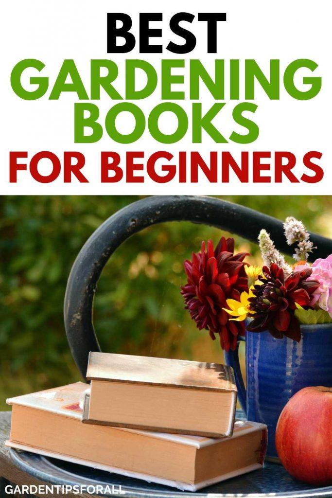 Beginner gardening books